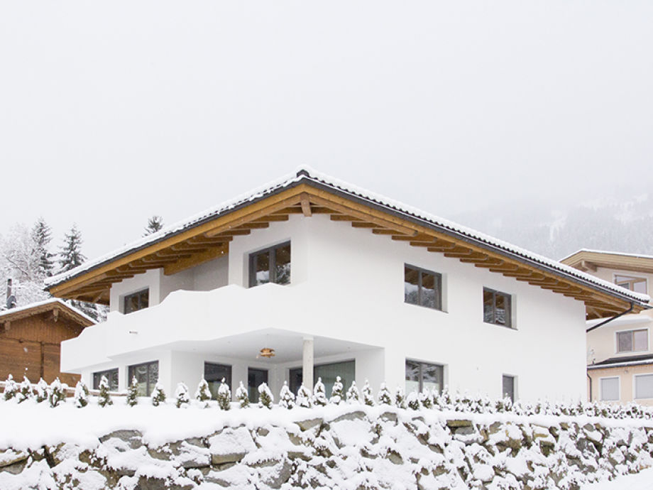 Exterior view in snow