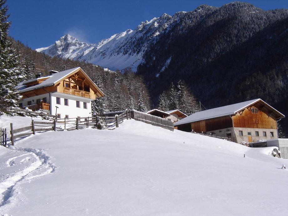 Unser Bauernhof im Winter