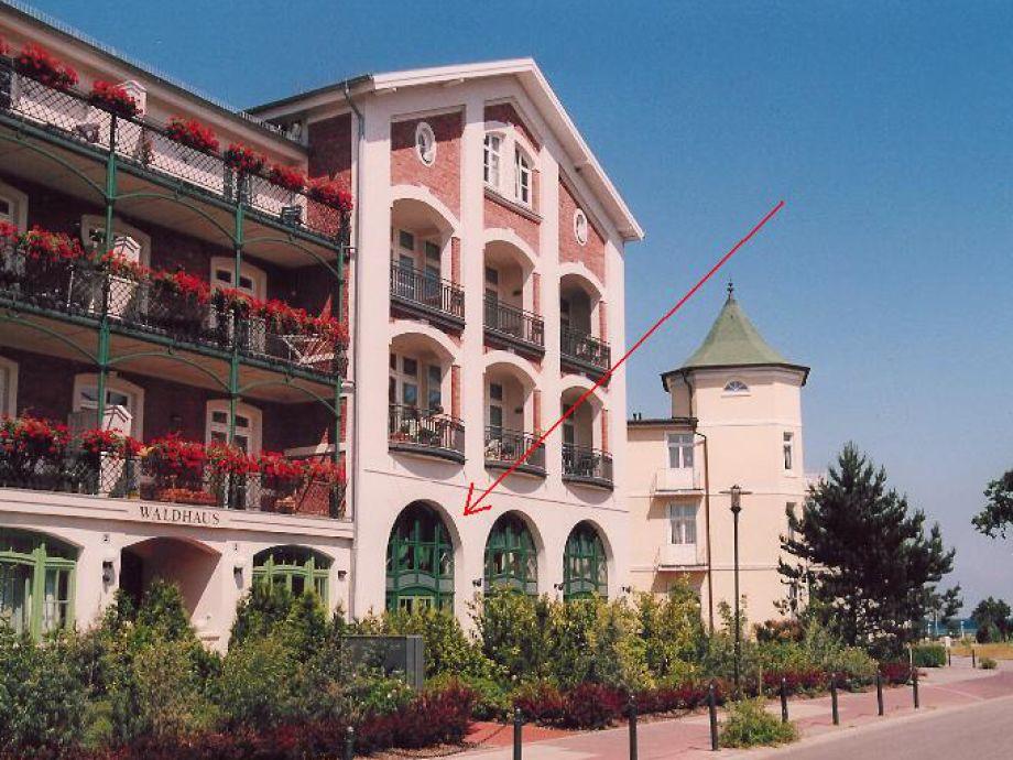 Top-Maisonette Wohnung am Meer