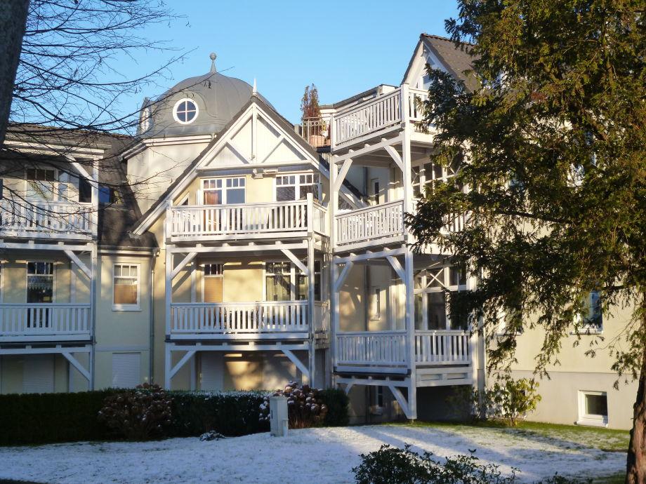 Villa Barbarossa mit Schneehaube
