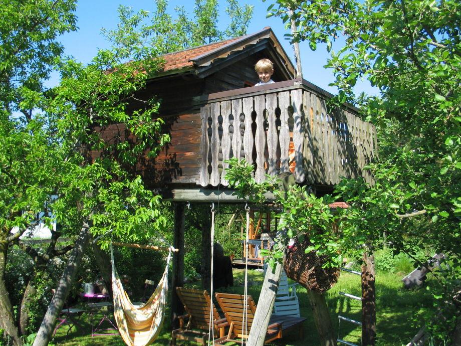 Ferienwohnung ebert allg u familie siegfried und gertrud ebert - Baumhaus garten ...