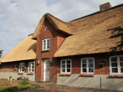 Landhaus vor Sylt