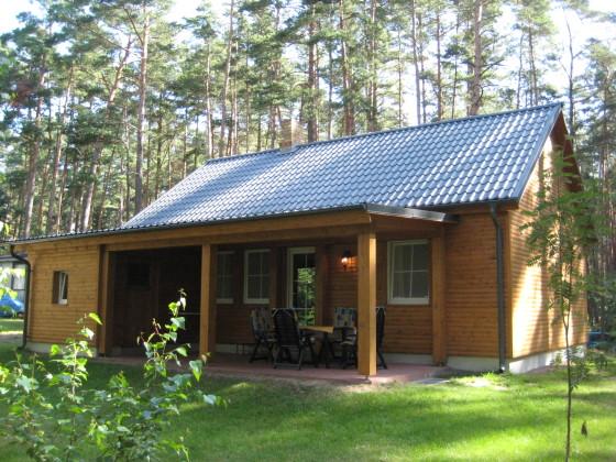 Ferienhaus im Wald am See Mecklenburgische Seenplatte