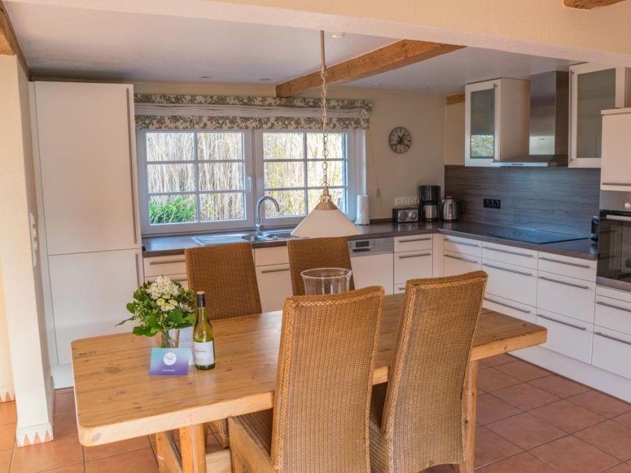 Ferienhaus Fischerkate - Küche/ Essbereich