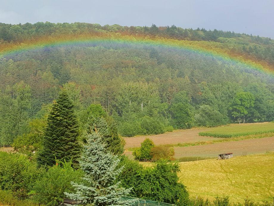 Regenbogen im Lennetal
