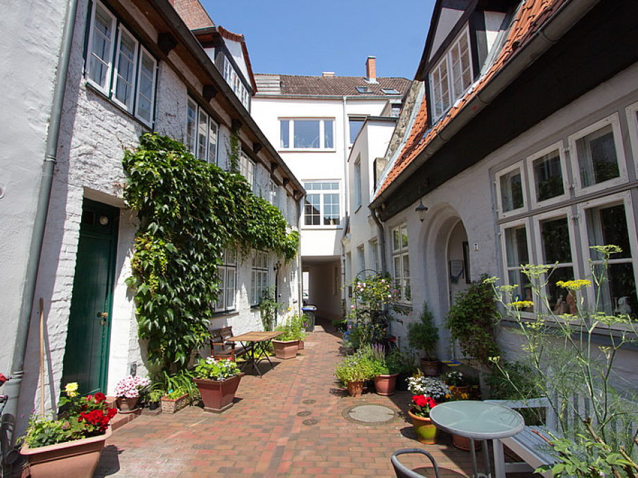 Ferienhaus Lübeck, Ganghaus Teehaus