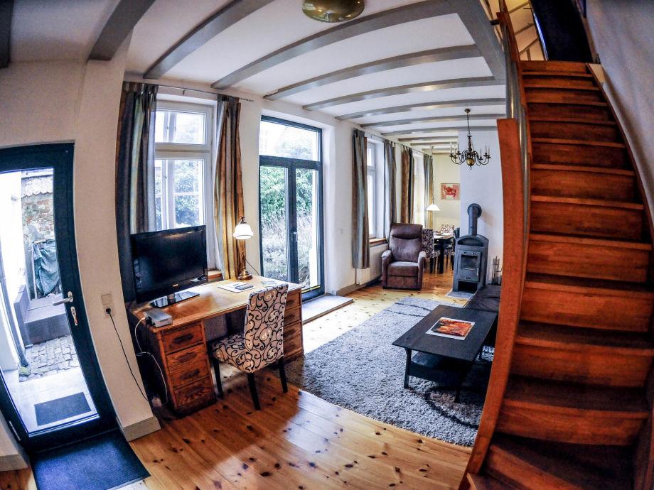 Das Gartenhaus, Wohnzimmer