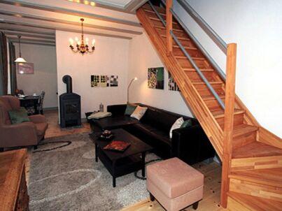 Gartenhaus im Einhornhaus mit Kamin und privater Terasse