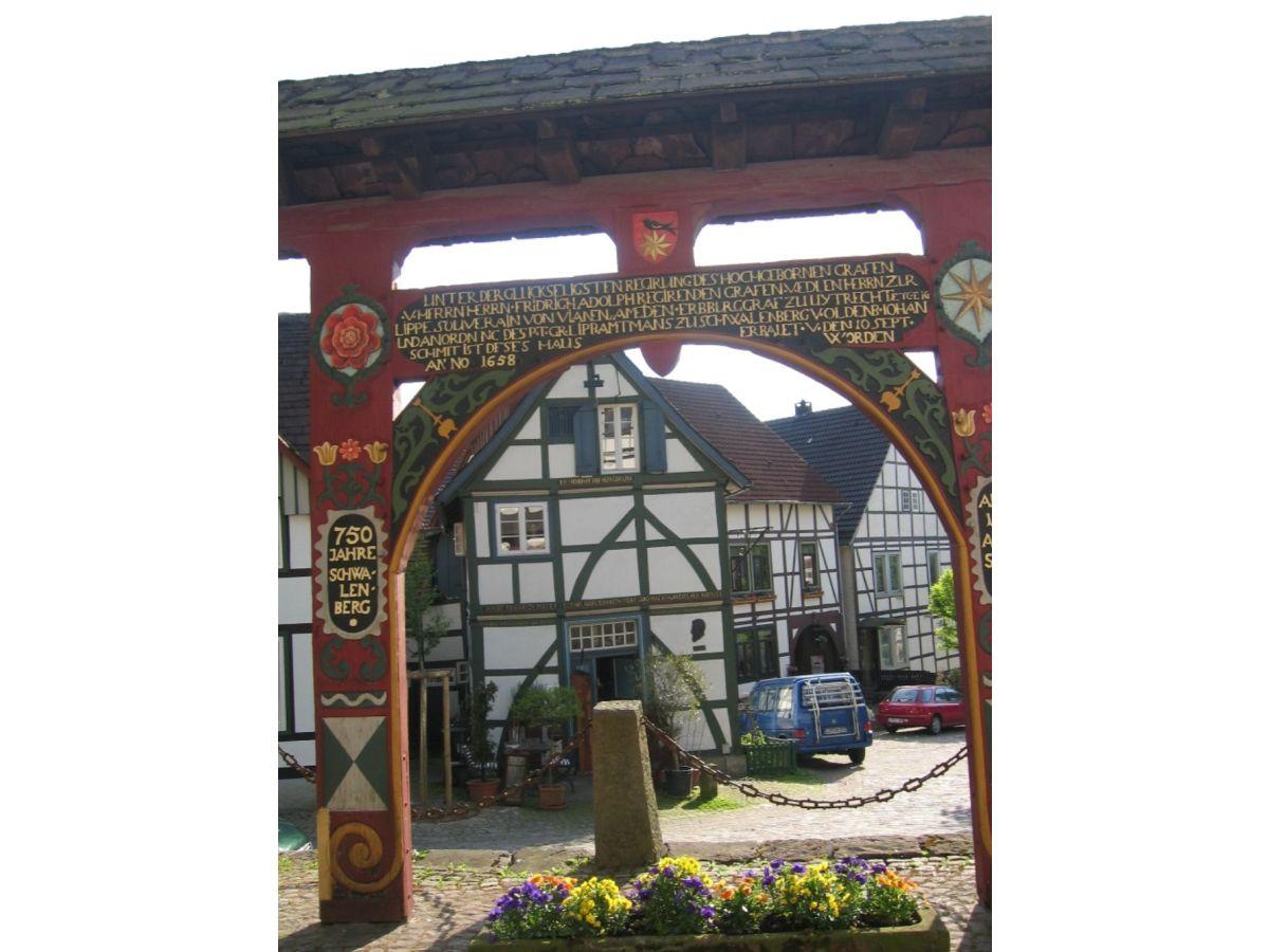 Ferienwohnung Haus Heidegarten Loggia, Teutoburger Wald in ...
