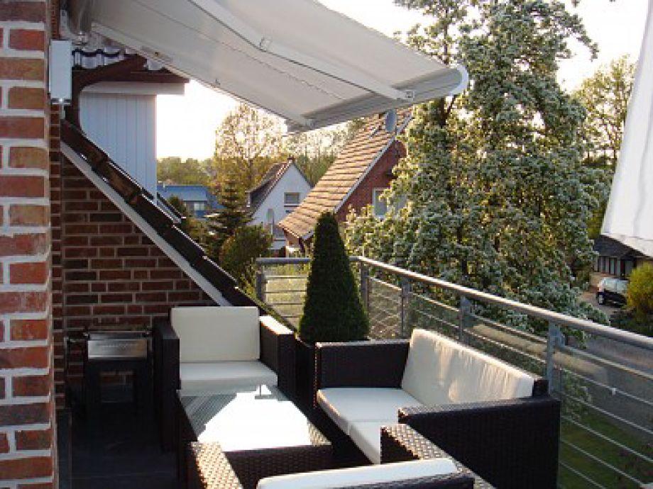Ferienwohnung domizil wolburg schleswig holstein ostsee for Markise balkon mit tapeten von hammer