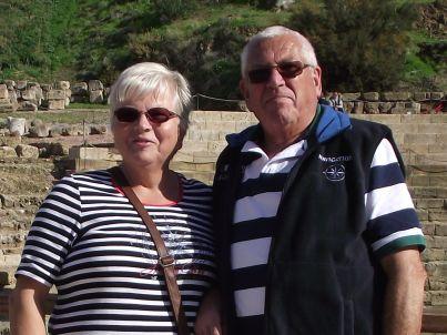 Ihr Gastgeber Karin und Heinz Abrath