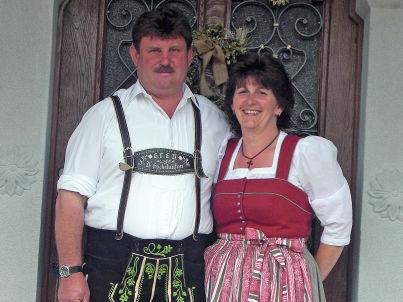 Ihr Gastgeber Franz &Traudi Seehuber