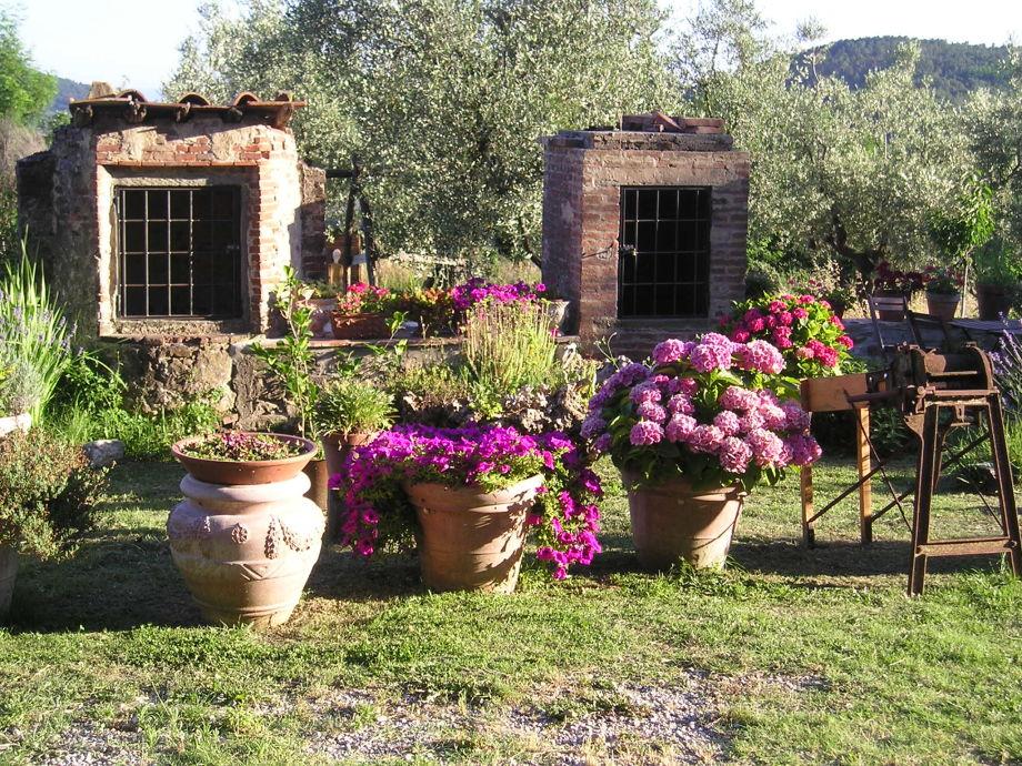 Ferienwohnung im herzen der toskana familien mit kinder sind willkommen toskana frau stella - Toskana garten ...