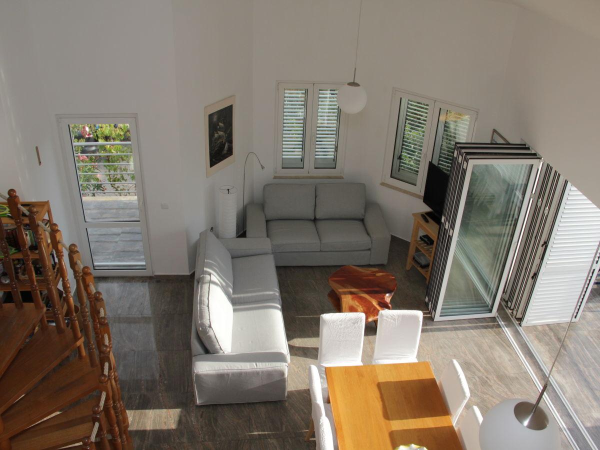 Ferienhaus villa am meer insel pag herr martin daublebsky - Sitzecke wohnzimmer ...