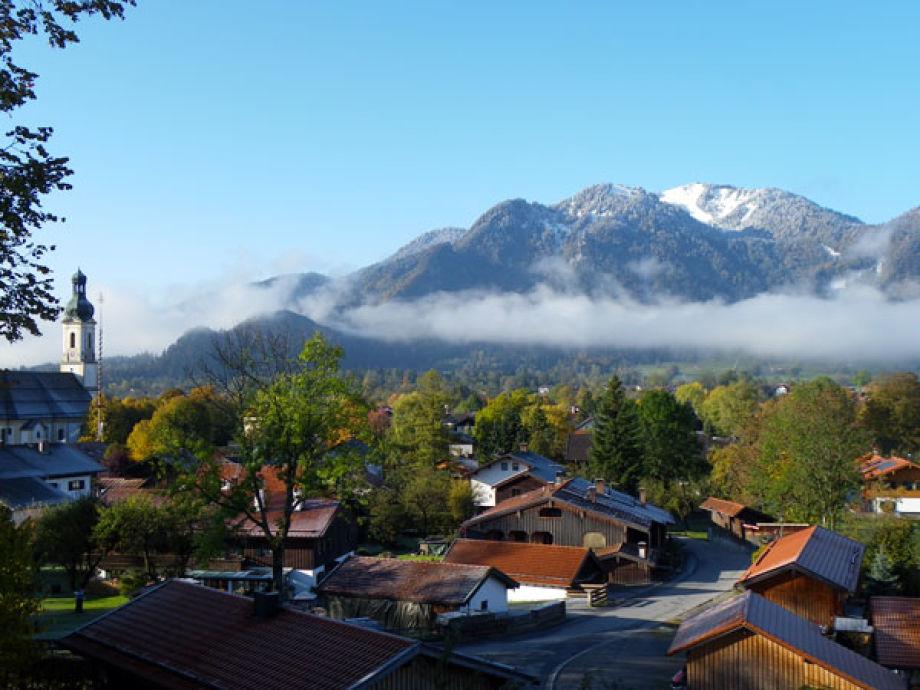 """Panoramaview from """"Ferienhaus zum Brauneckblick"""""""