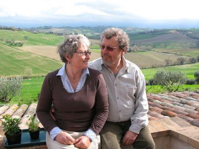 Ihr Gastgeber Irena und René Garrebeek