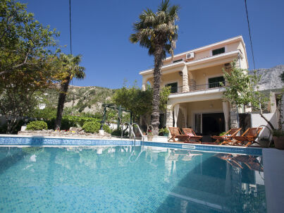Villa Vojnovic mit Pool
