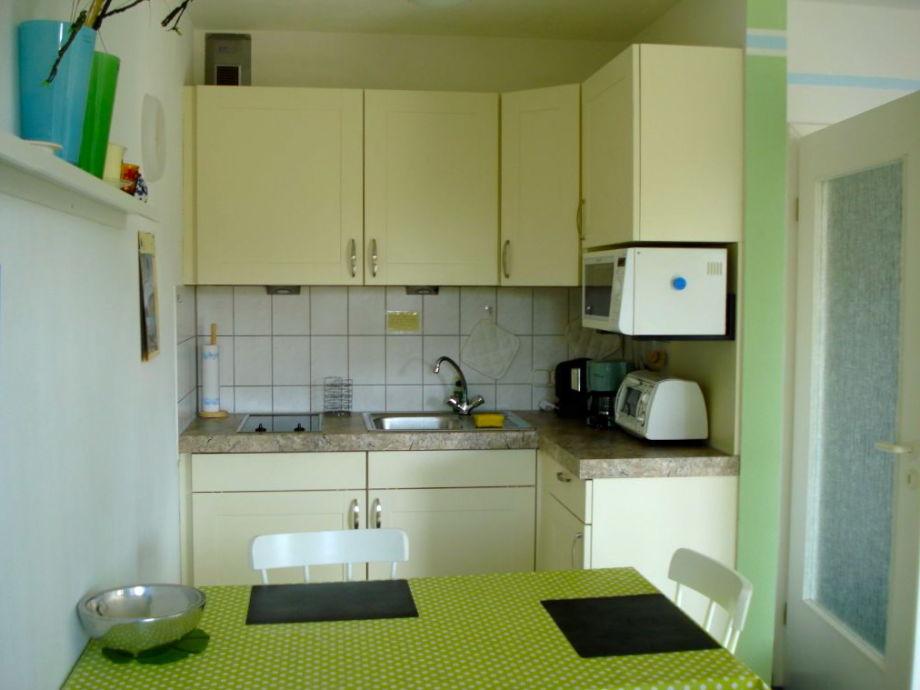 Küchenpantry ferienwohnung studio 8 im 1 og haus stranddistel fischland darß
