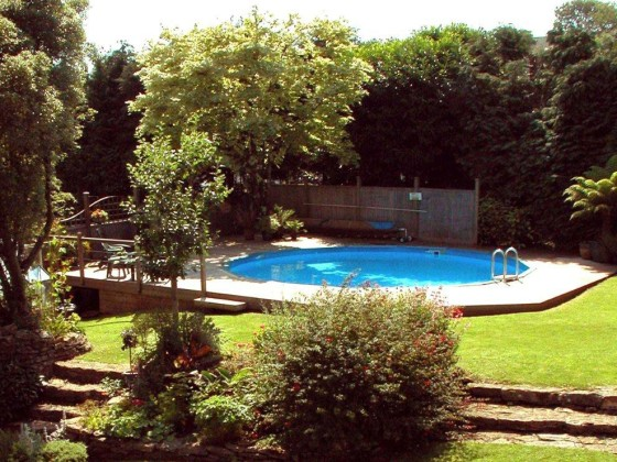 Landhaus rose cottage in millmans cottages south hams - Cottages in devon with swimming pool ...
