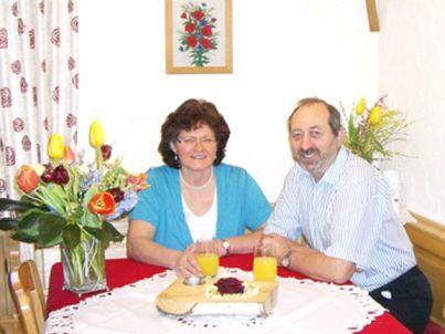 Ihr Gastgeber Helene und Georg Lechner