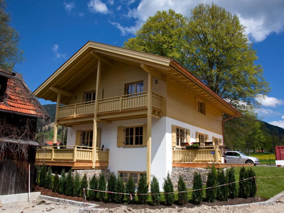 Ansicht Südwest des Ferienhaus Ammergauer Alpen