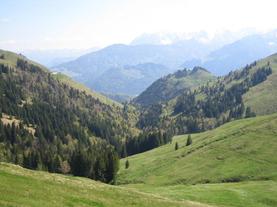 Blick ins Kaisergebirge