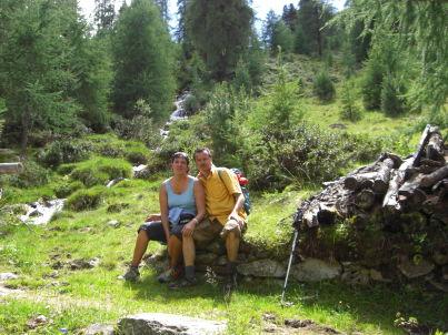 Ihr Gastgeber Sylvia und Sepp Peer