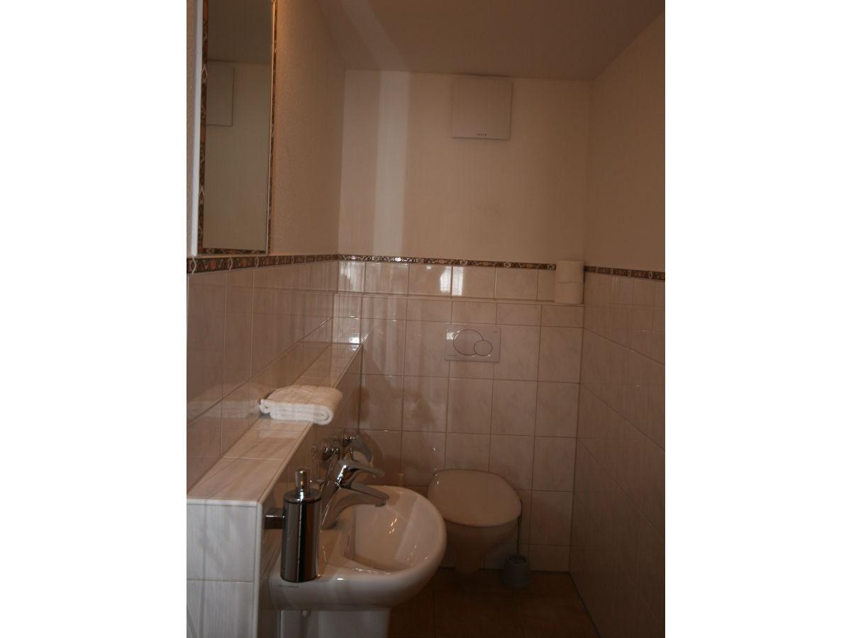 Badezimmer separates WC Hopfensee