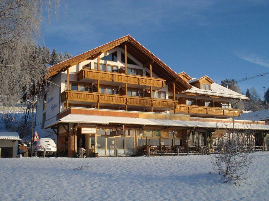 Residenz Hopfensee im Winter