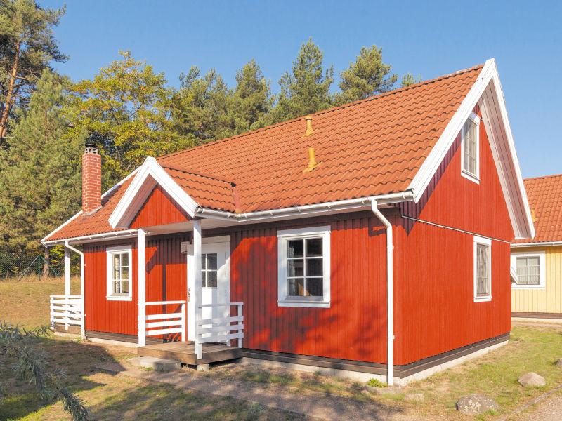 Ferienhaus Schwedenhaus Rote Seerose