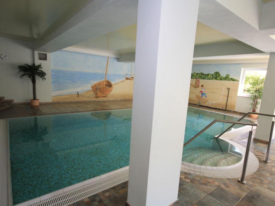 Ferienwohnung kaiserbad heringsdorf mit schwimmbad und for Schwimmbad gegenstromanlage