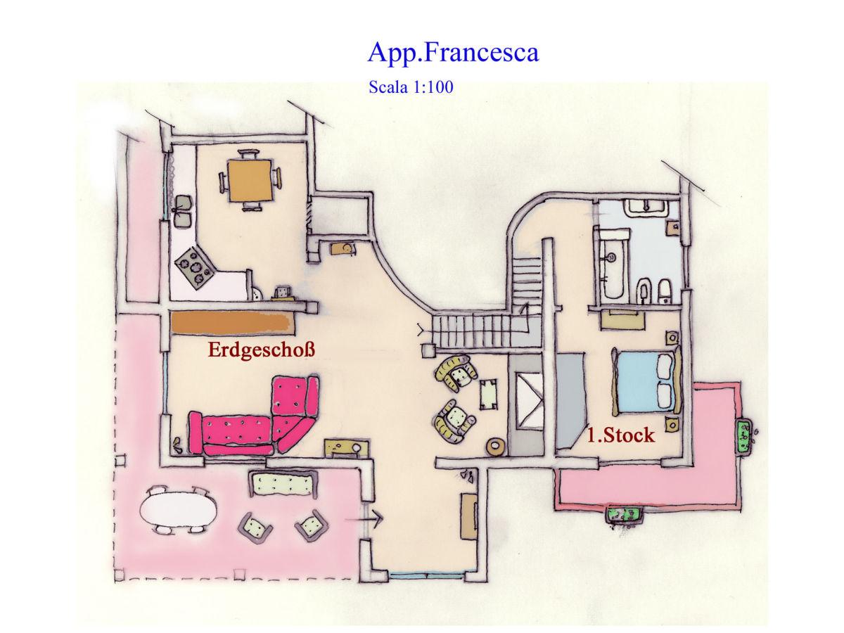 villa francesca tuscany vinci firma toskana pur ms helga kaufmann. Black Bedroom Furniture Sets. Home Design Ideas