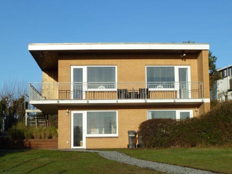 Ferienhaus Nr. 26 mit Ostsee-Meerblick, hoch eingezäunt