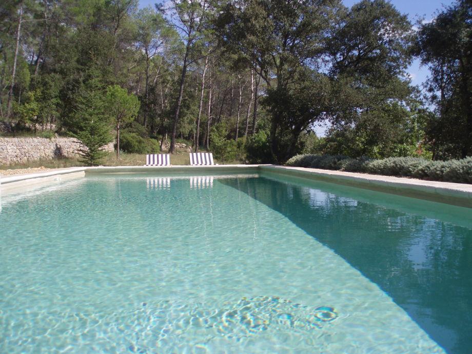Der sonnigen Pool