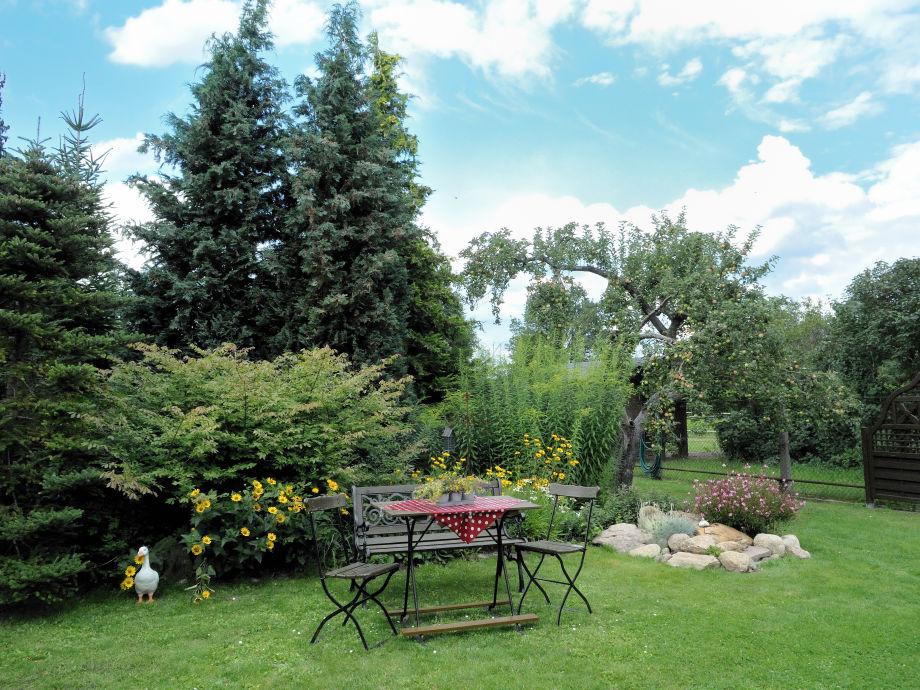 Sonniges Plätzchen in Garten