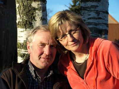 Ihr Gastgeber Bernhard und Anni Geers
