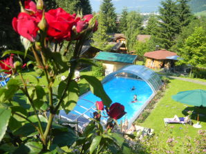 Holiday apartment Deluxe im Gartenhotel Rosenhof – Das Paradies bei Kitzbühel