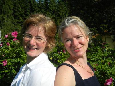 Your host Alexa und Anna Voggenreiter