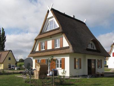 Reetdachferienhaus Strandkorb C6