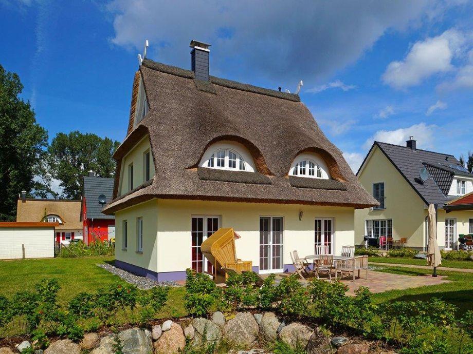 Reetdach-Ferienhaus Stine