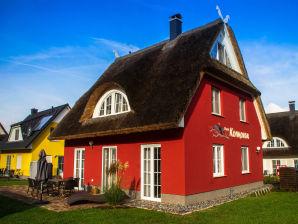 Reetdachferienhaus Kormoran Espenweg 20