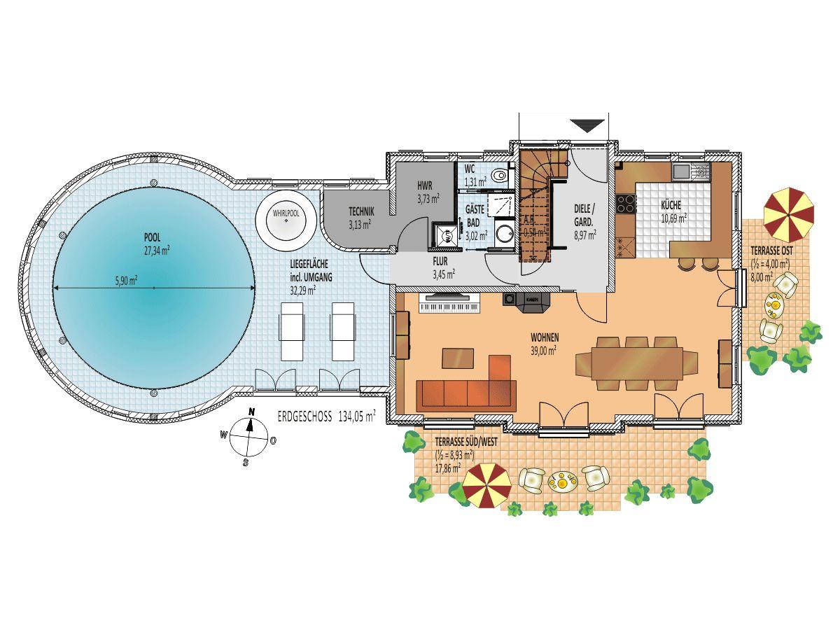 villa merle reethaus mit schwimmbad r gen glowe herr wolfgang scharfschwerdt. Black Bedroom Furniture Sets. Home Design Ideas