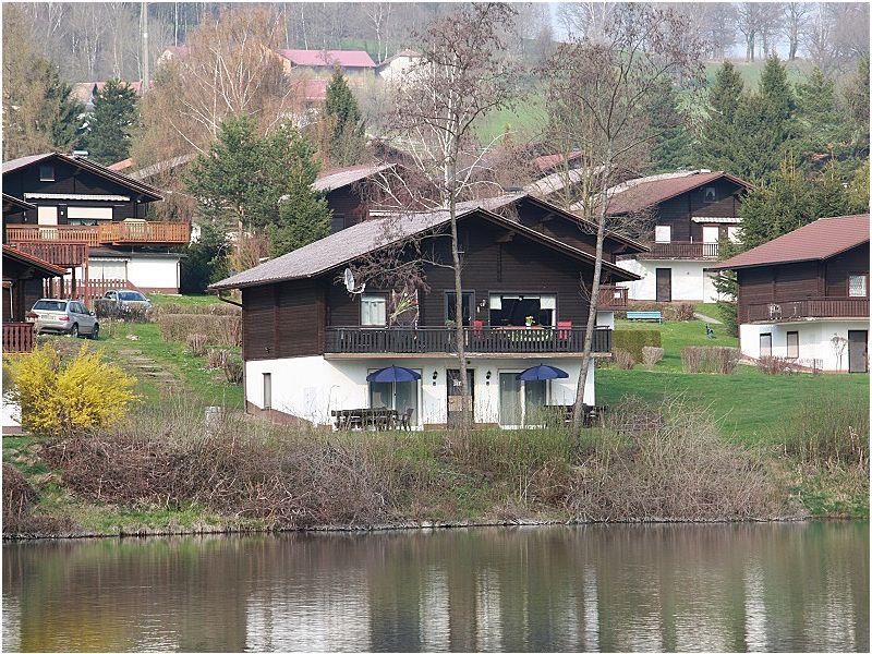 Ferienhaus am See mit Seeblick