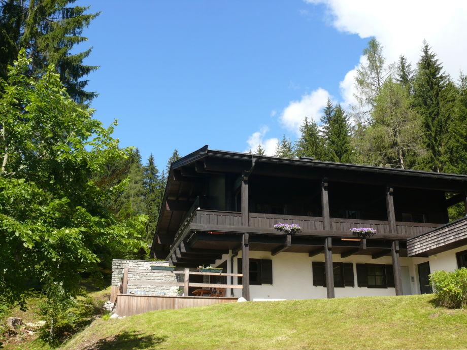 Blick auf FEWO im Haus van Melis