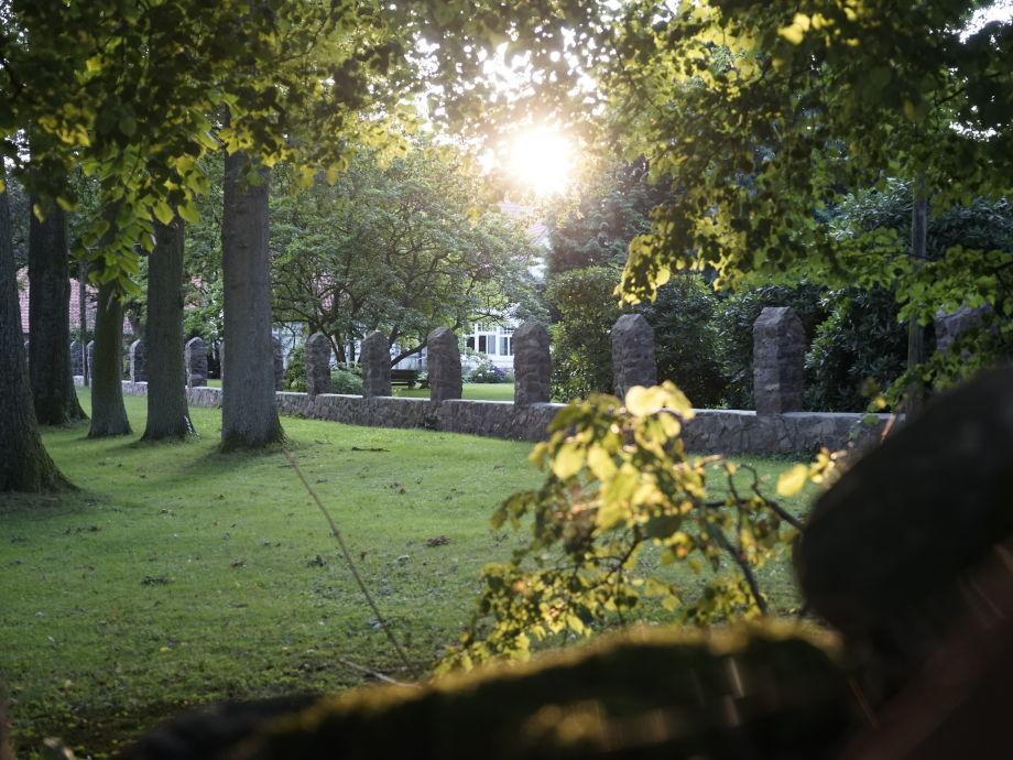 Uralte romantische Hofanlage in der Heide