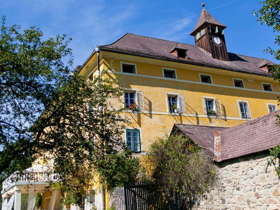 Schlossterrasse Südseite