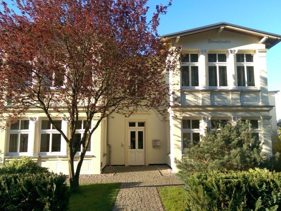 Außenaufnahme Villa Strandgut & Ferienhaus Strandperle