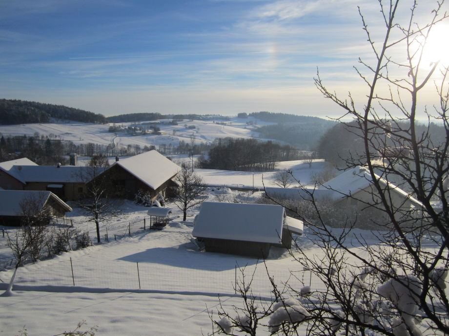 Unser Biohof - Wintersonne