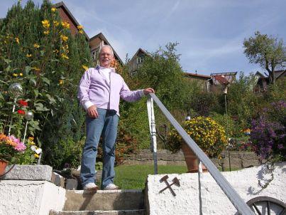 Your host Hans-Dieter Trautmann