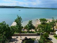 Ferienwohnung Nr. 9 in der Villa Klimno direkt am Strand